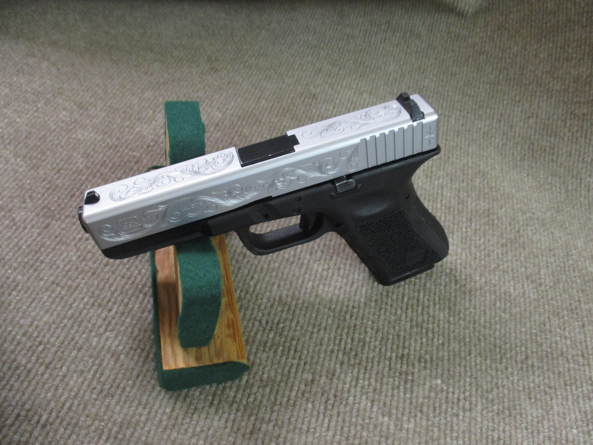 Glock Matte Chrome Slide