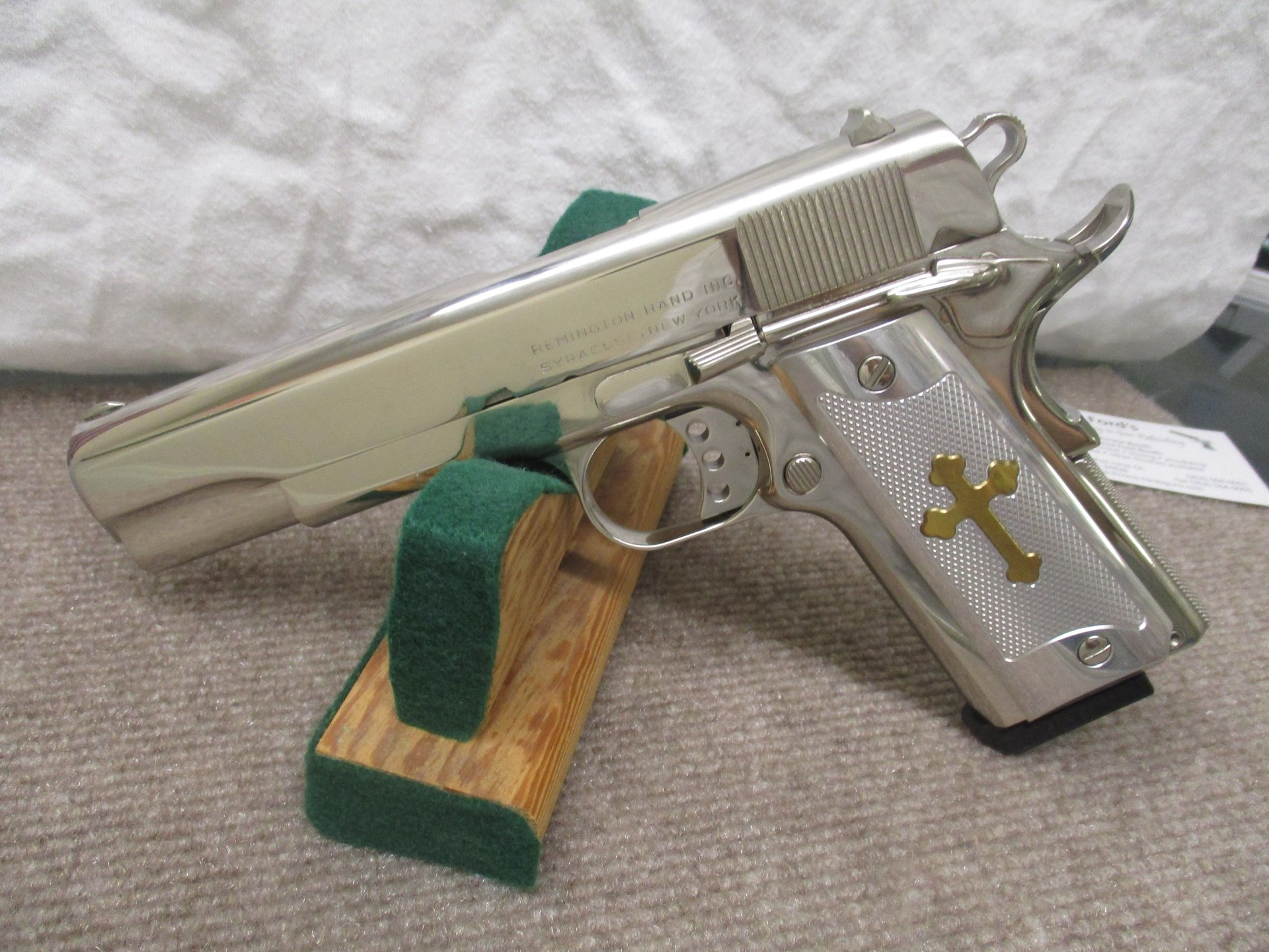 Remington 1911 Bgt Nickel All Over
