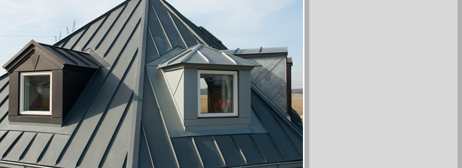A View Of Aluminum Roof