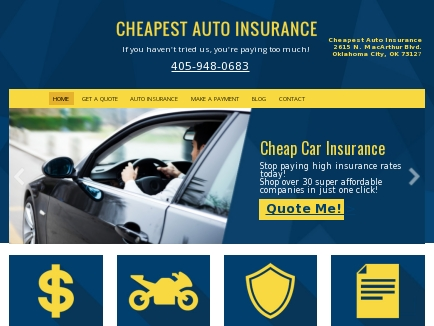 cheapest auto insurance affordable car insurance oklahoma city ok cheapest auto insurance affordable