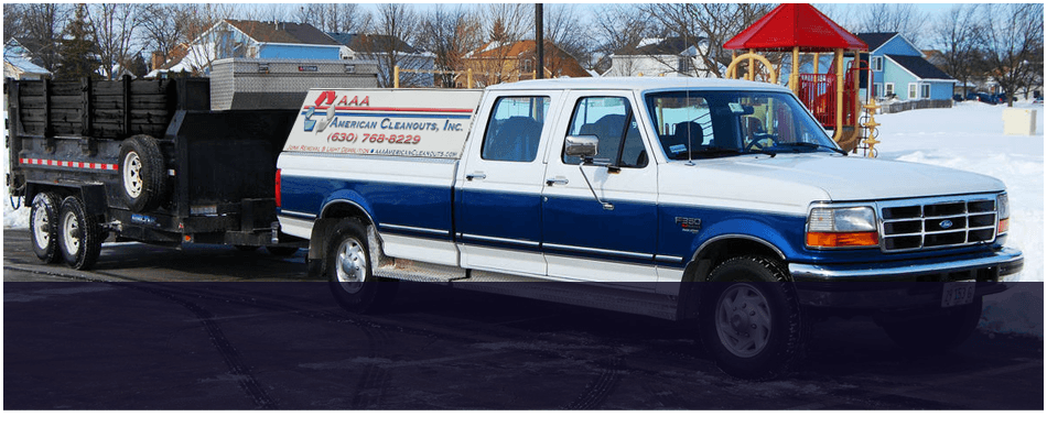 Residential Waste Removal | Glendale Heights, IL | AAA American Cleanouts, Inc. | 630-768-8229