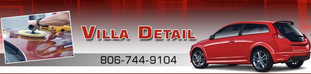 Car Washing Lubbock, TX  -Villa Detail 806-744-9104