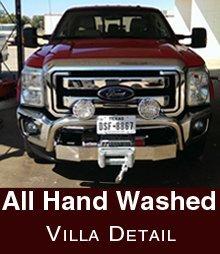 Car Washing - Lubbock, TX  - Villa Detail