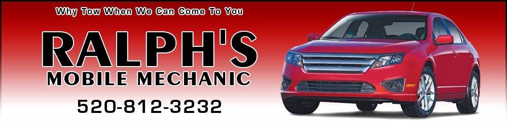 Auto Repair Services - Pinal County, AZ - Ralph's Mobile Mechanic