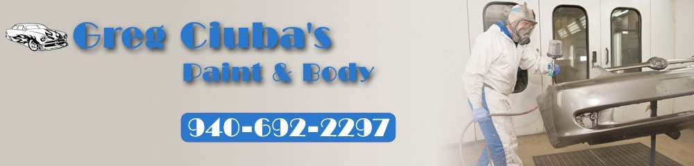 Auto Body Repairs - Wichita Falls,  TX  - Greg Ciuba's Paint & Body