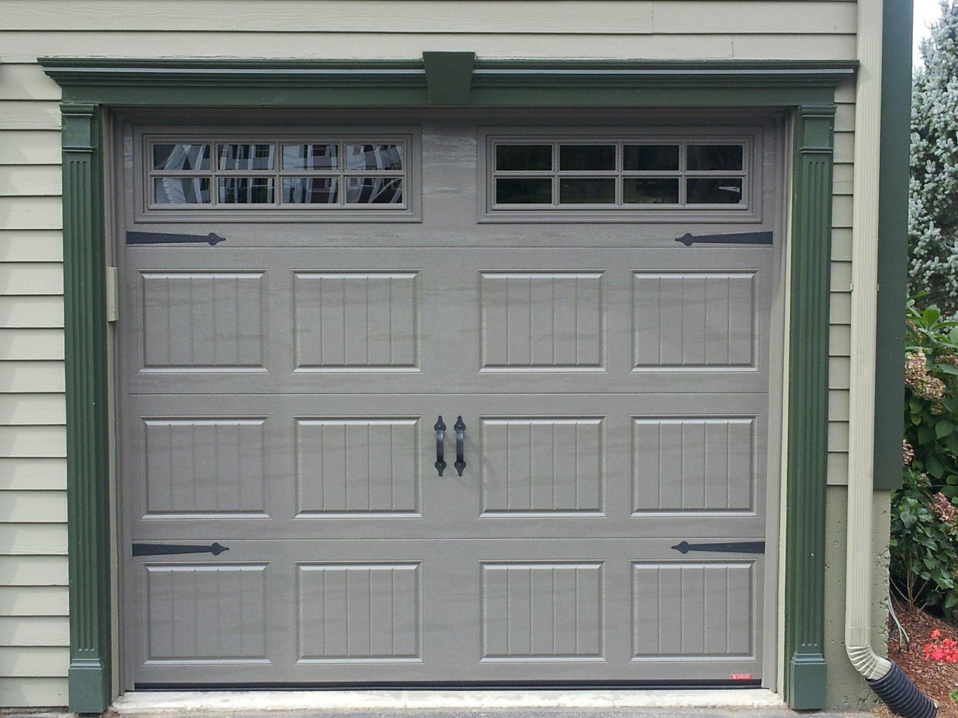 Residential Overhead Door Flush Panel Peabody Ma