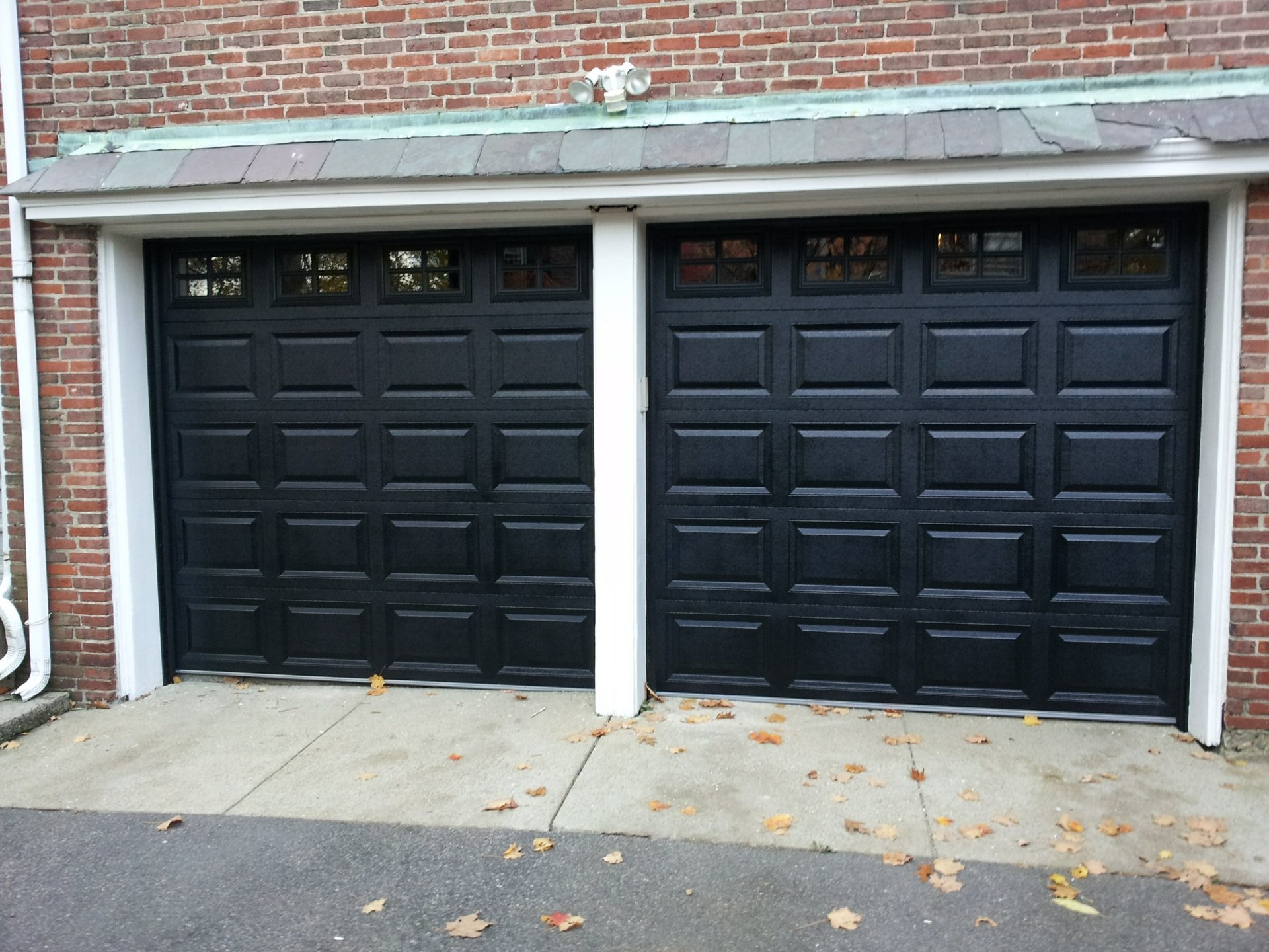 Residential Overhead Door Flush Panel Peabody Ma