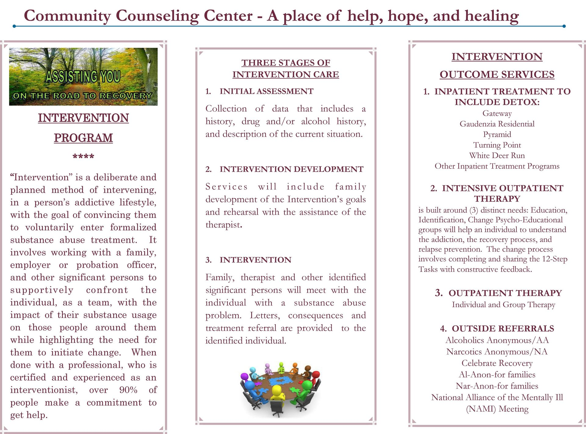 Drug and Alcohol Intervention Services