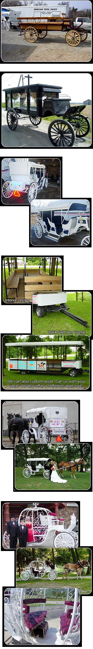 Horse-Drawn Carriages | Savannah, MO | Duncan Carriages | 816-390-5298