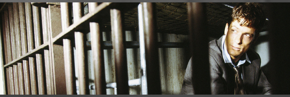 Man inside the jail