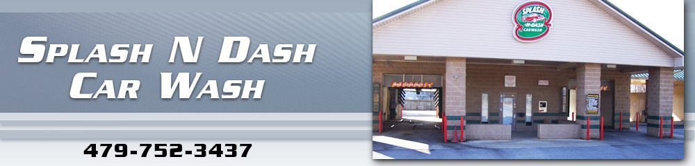 Car Wash Center - Rogers, AR - Splash N Dash Car Wash