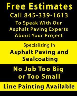 Sealcoating - Kingston, NY - Asphalt Maintenance