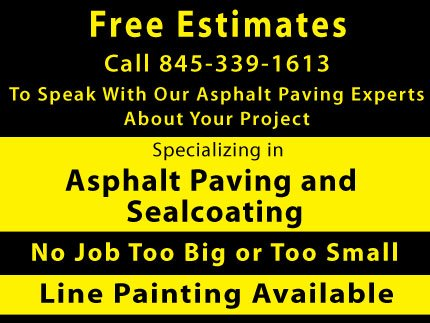 Asphalt Maintenance - Asphalt Service Company - Kingston, NY
