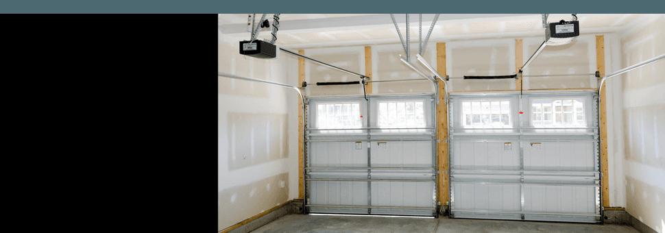 Interior part of a garage