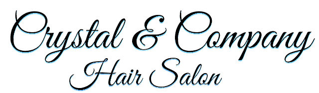 Crystal & Company Hair Salon  Logo
