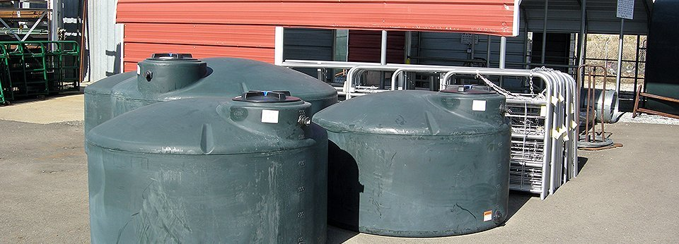 A Large Variety Of Liquid Storage Tanks