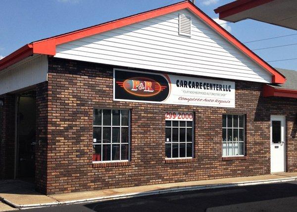 Auto Repair Center - Kettering, OH - P & R Car Care Center