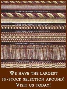 Fabrics - Daytona Beach, FL - Coastal Fabric & Foam - classic drape - We have the largest in-stock selection around! Visit us today!