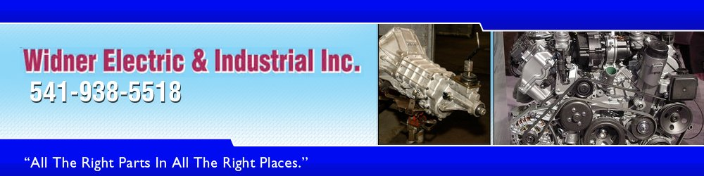 Auto Part Dealer - Milton Freewater, OR - Widner Electric & Industrial Inc.