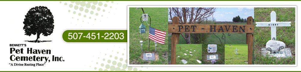 Pet Cemetery - Owatonna, MN - Bennett's Pet Haven Cemetery, Inc.