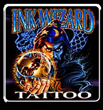 Ink Wizard Tattoo - Logo