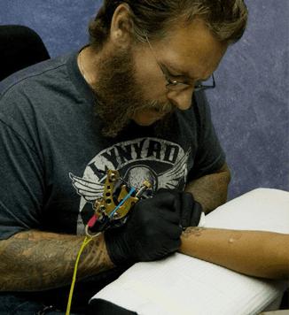 John tattooing