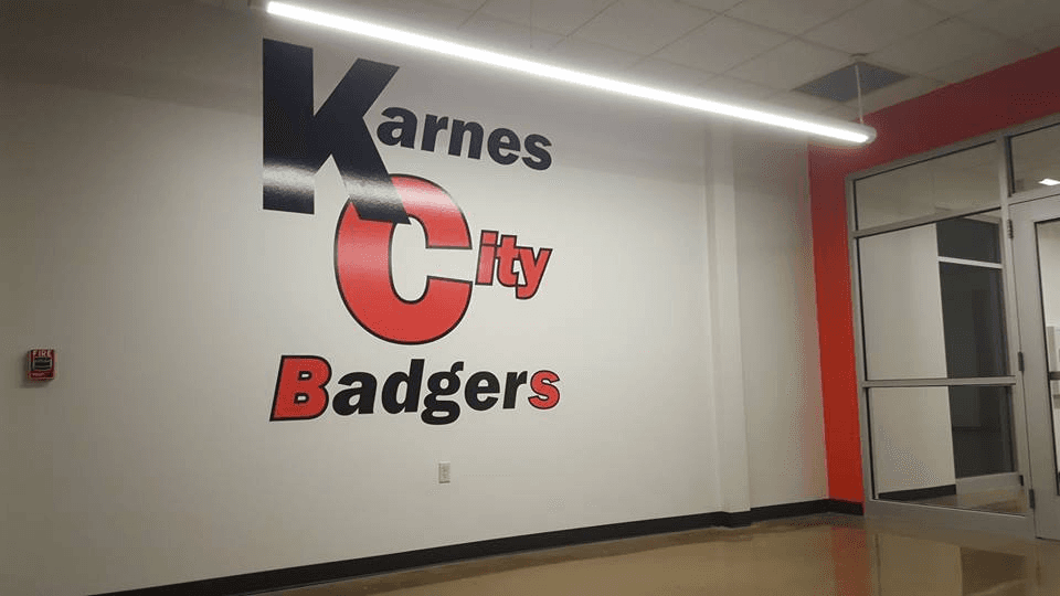 Karnes City Badgers Wall Decal