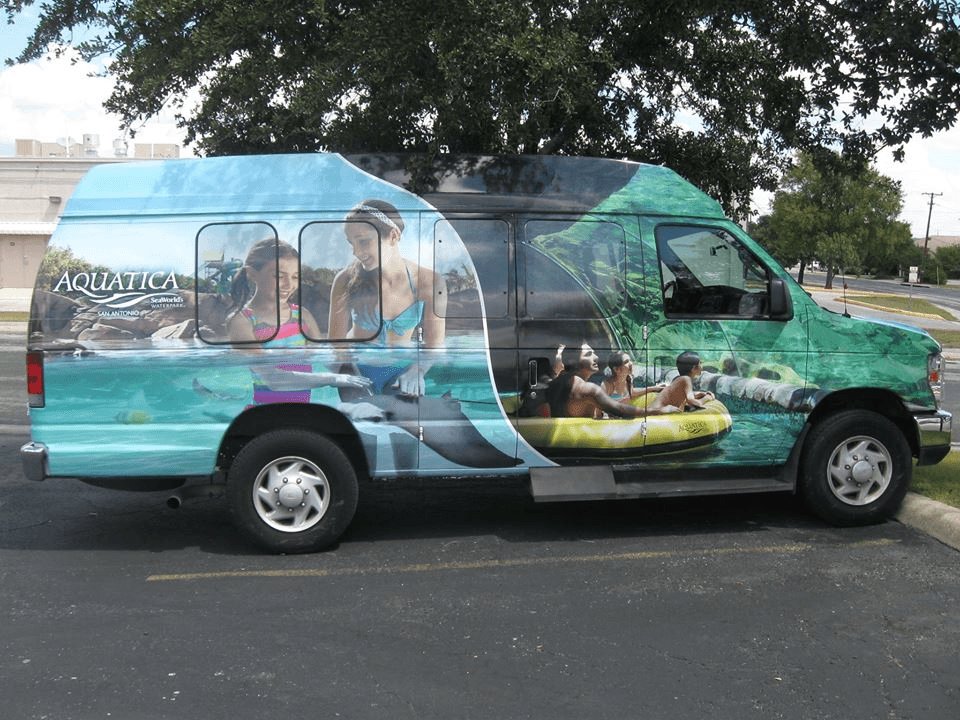 SeaWorld Vehicle Wrap