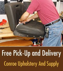 Auto Re-Upholstery - Conroe, TX - Conroe Upholstery And Supply