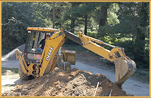 Quality excavating service