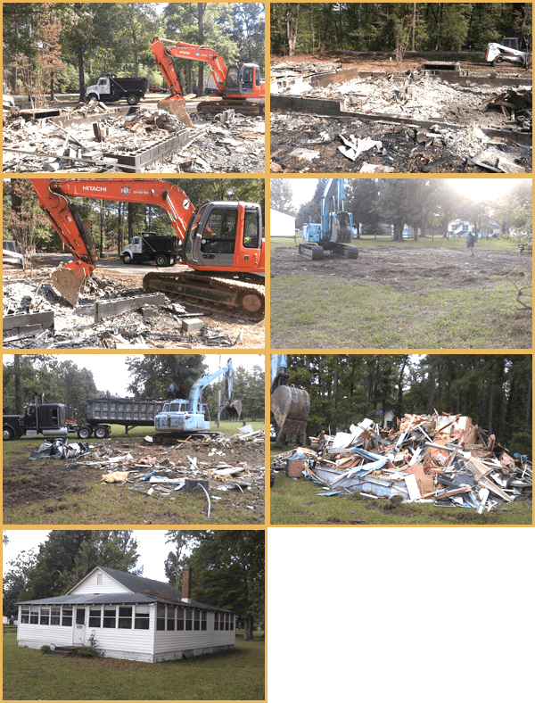 Demolition | St. Mary's County, MD | D. Barnes Excavating | 301-904-1909