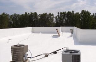 Roofing-Roof system SPF Foam Roof | Wichita, KS | Melton Industries LLC | 316-744-1210