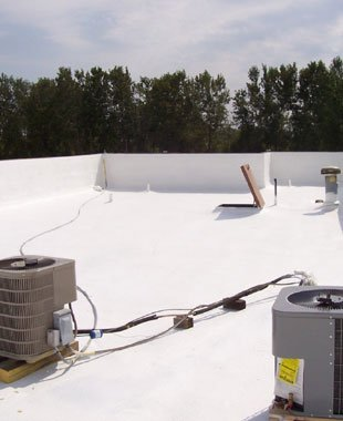 SPF Roofing System | Wichita, KS | Melton Industries LLC | 316-744-1210