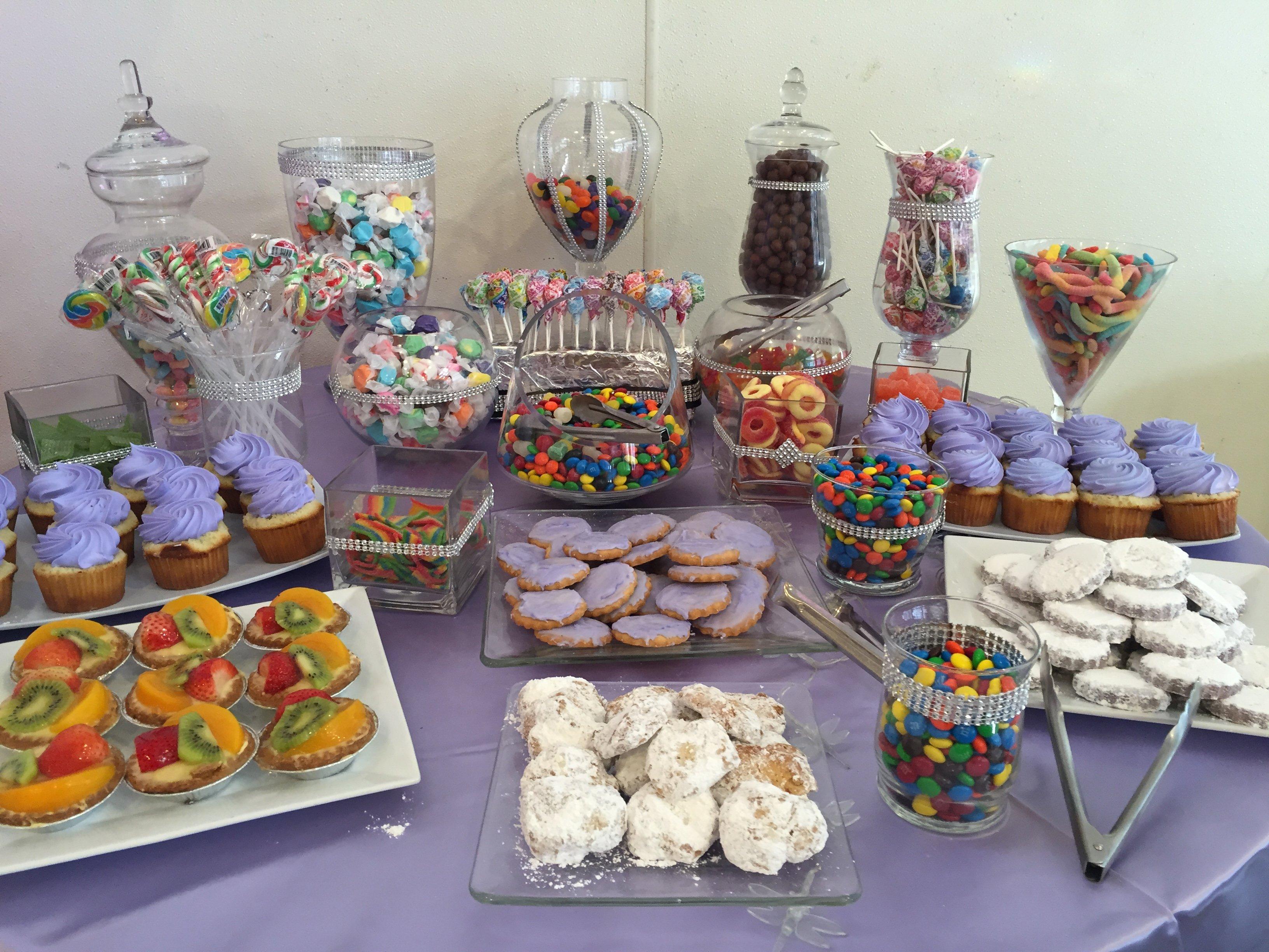 Birthday Table arrangements