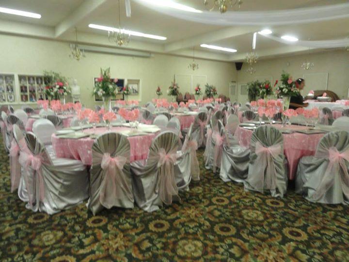 Wedding Table arrangements