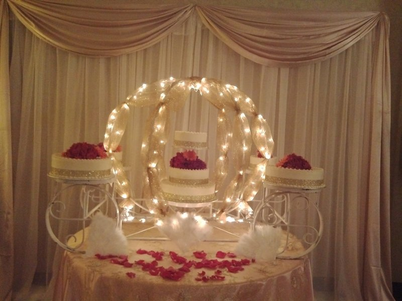 Wedding  cake decoration