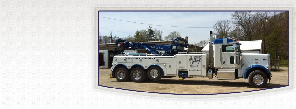 Towing Services | Zanesville, OH | A-One Towing | 740-452-9468