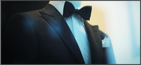 A black suit