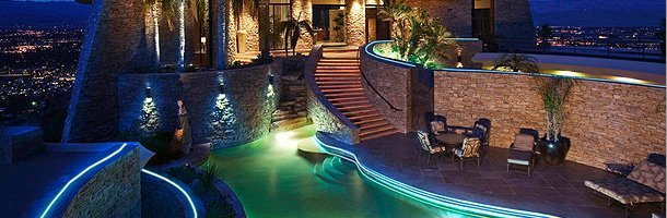 Luxurious and elegant spa LED lighting