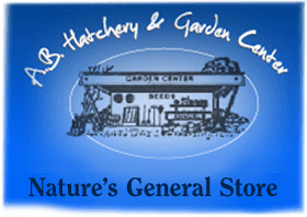 A.B. Hatchery & Garden Center - logo