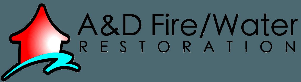 A & D Fire/Water Restoration, LLC. Logo