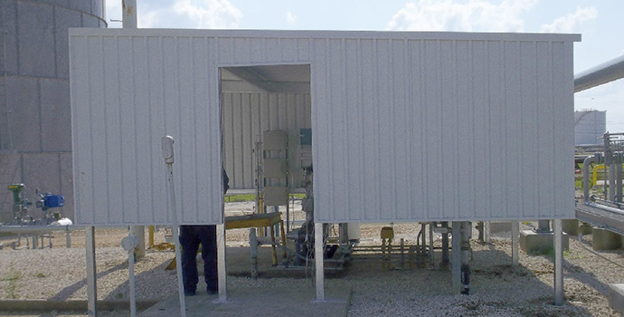 Industrial Awnings   Door Awnings   Cleveland, TX