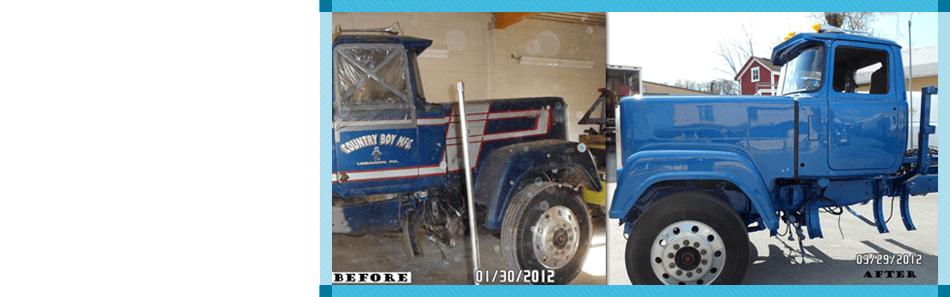 Sandblasting and Truck Refinishing   Elizabethtown, PA   Seibert's Sandblasting and Truck Refinishing   717-367-4830
