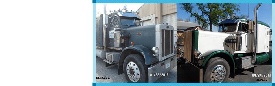 Truck and Equipment Painting   Elizabethtown, PA   Seibert's Sandblasting and Truck Refinishing   717-367-4830
