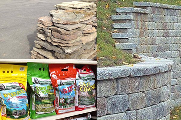 Masonry and landscaping supplies