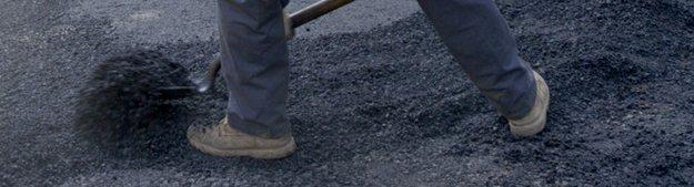 Sidewalk paving repair