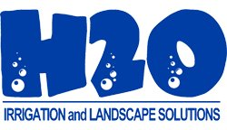 H2O Irrigation and Landscape Solutions - Logo