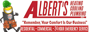 Albert's Heating Cooling Plumbing Inc. - Logo