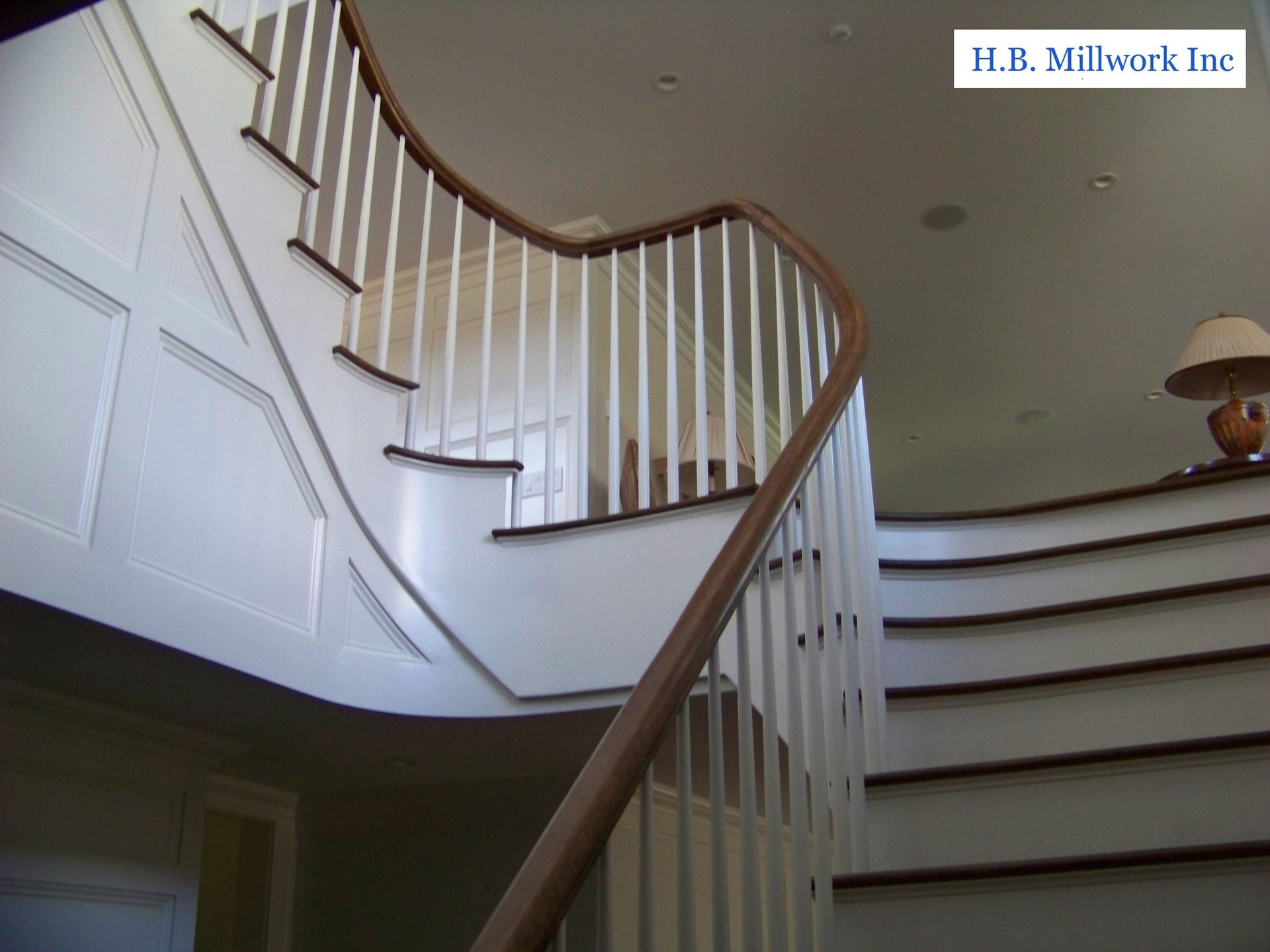 Circular Stairs & Handrails