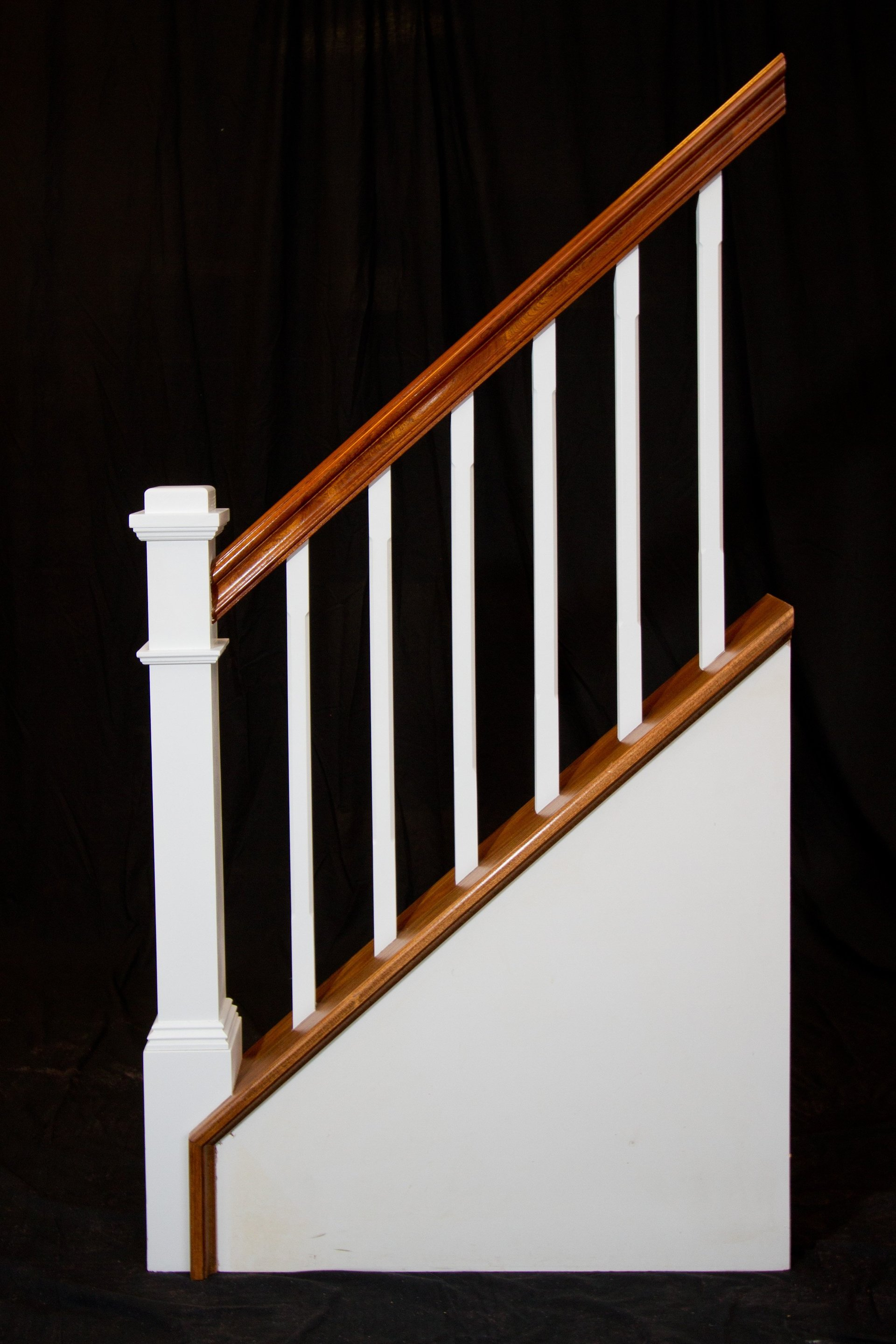 Custom Stairs and Handrail